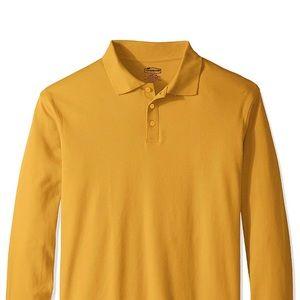 Golden Yellow Polo